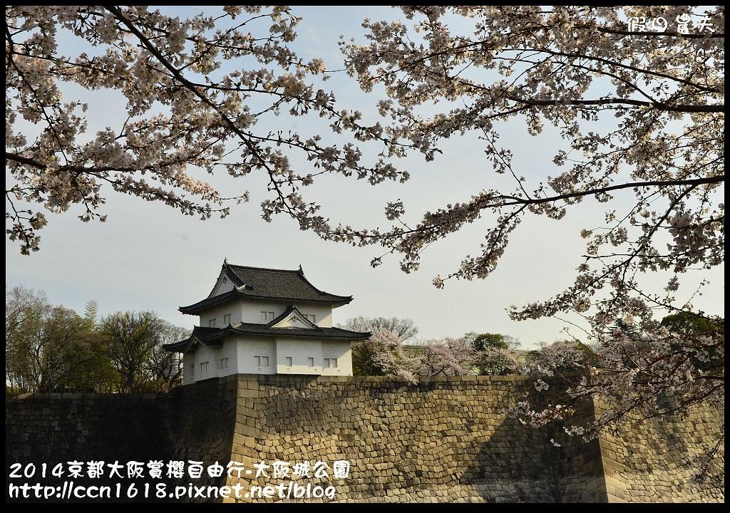 2014京都大阪賞櫻自由行-大阪城公園DSC_1665