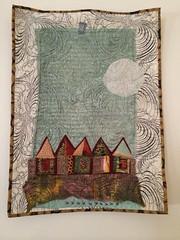 Old Village series quilt