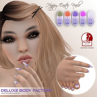 [DBF] SLINK nails Happy Easter set 3 AD