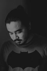 Autorretrato (Self portrait w/ 'The Dark Knight Returns' t-shirt)