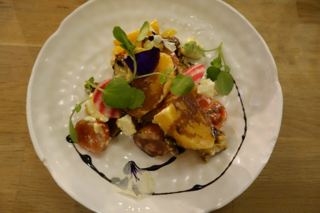 Forge & Co, Shoreditch: Beetroot and Goats Cheese Salad