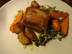 pork belly from Outerlands in San Francisco