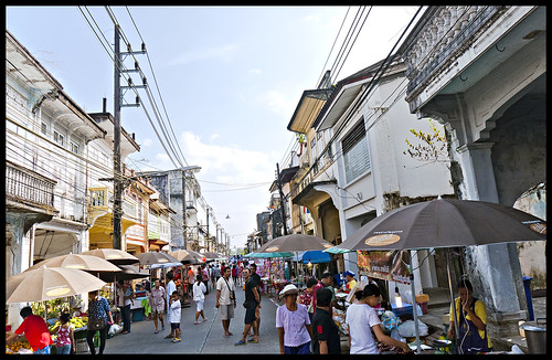 Old Takua Pa Town on Market Day