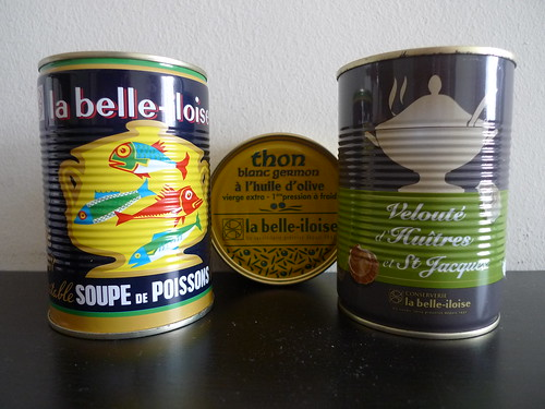 Canned Soup From conserverie la belle-iloise
