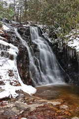 Upper Cascades at Hanging Rock State Park