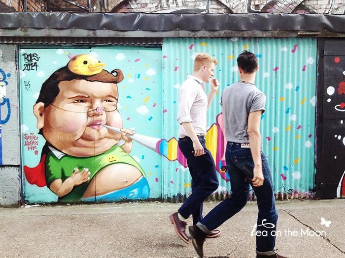 Londes graffitis Shoreditch