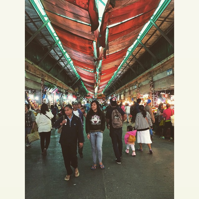 Earlier at the Baguio public market...glad @pink_aloe wasn't with me today. #shoppingdemon