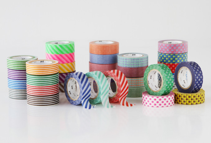 mt masking tape new patterned washi tapes