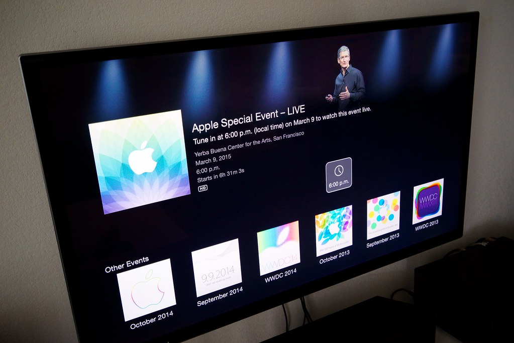 La Keynote de ce soir vous attend sur Apple TV