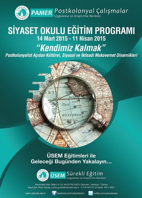 Üsküdar Üniversitesi'nde siyaset okulu eğitim programı başlıyor
