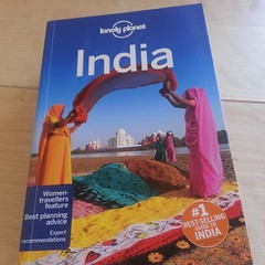 Dreams have to begin somewhere! Thanks @lonelyplanetuk and @martin_heng for the India travel guide