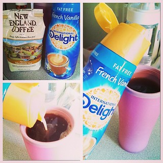 I started my morning with #IDelight #frenchvanilla #creamer in my Hawaiian Macadamia Nut #coffee YUM! What a great combination. #gotitfree #bzzagent #InternationalDelight #idelight #bzzagent @bzzagent @indelight