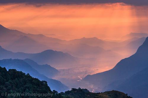 nepal color beautiful horizontal landscape dawn colorful asia outdoor scenic annapurnacircuit annapurna himalayas breathtaking gandaki australiancamp annapurnaconservationarea annapurnasancturarytrek