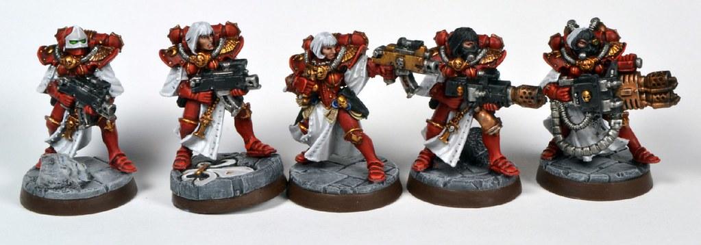 Adepta Sororitas Squad completed