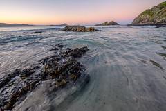 Seal Rocks - rocks and tide at dusk I