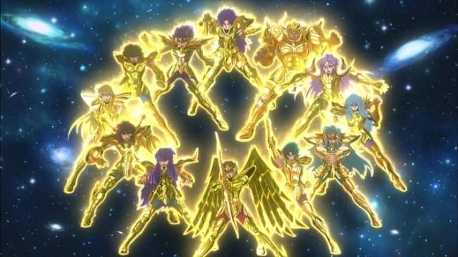 Saint Seiya: Soul of Gold -  Revelados um Novo Trailer e Pôster