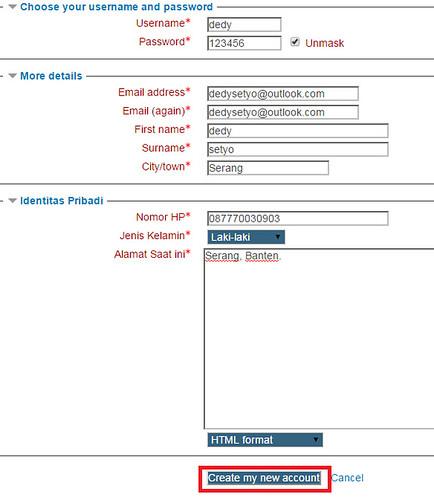 Setting SMTP Gmail Pada Moodlededysetyo net   dedysetyo net