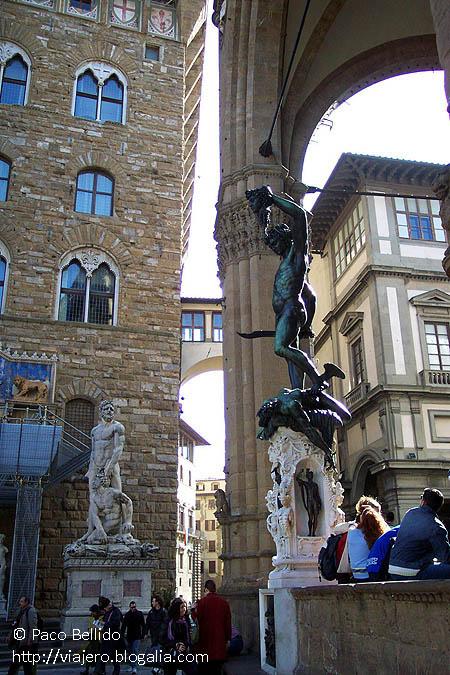 Piazza della Signoria. © Paco Bellido, 2003