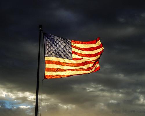 Glowing Flag