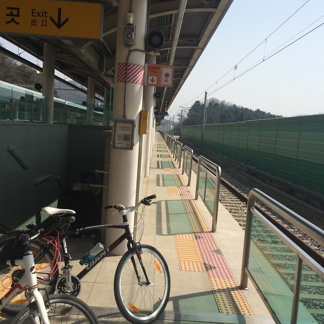 Biking around Gyeonggi-do, Korea: March, 2015