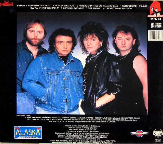 "ALASKA THE PACK 12"" LP VINYL"