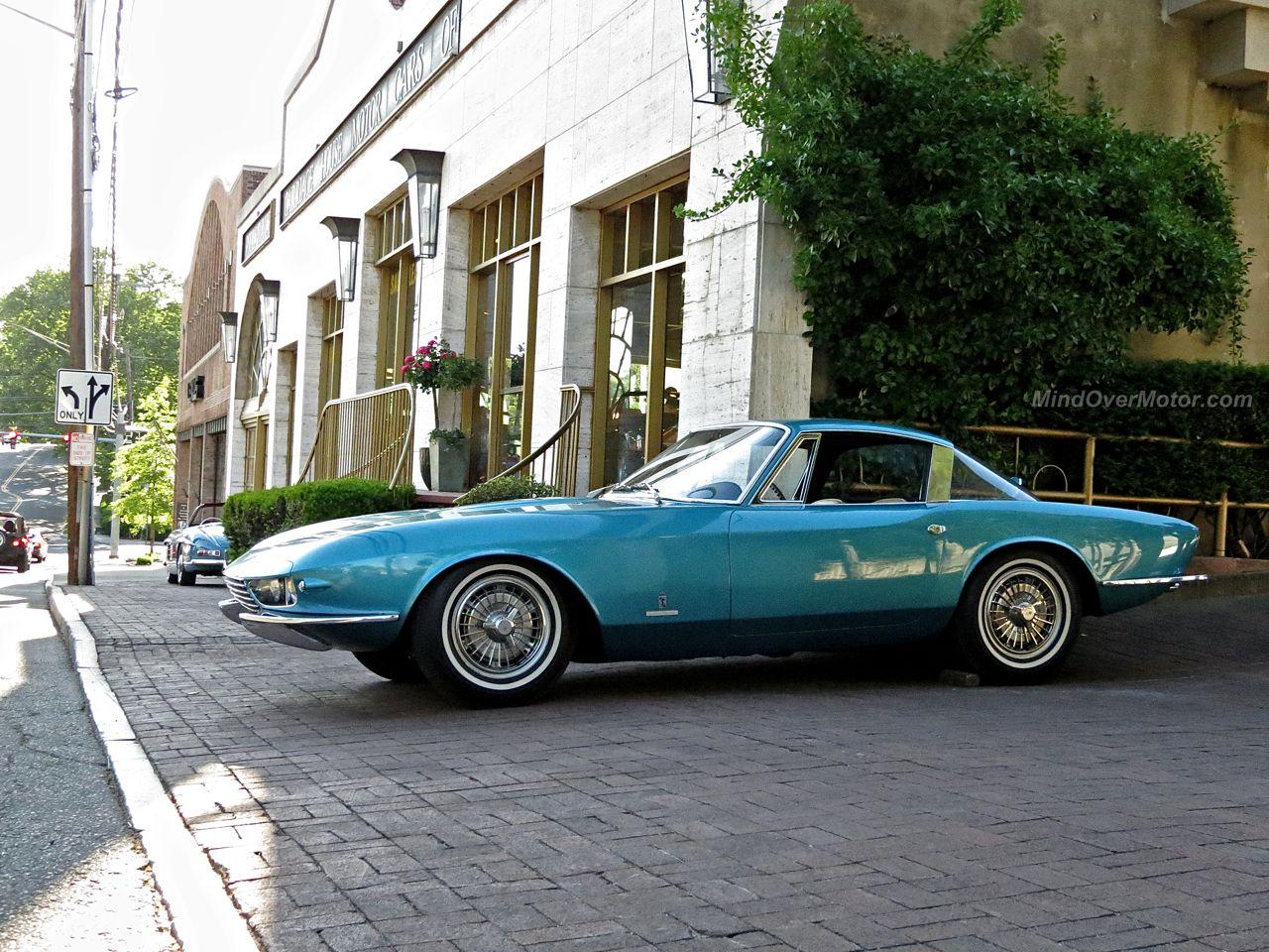 Corvette Rondine on the street in Greenwich
