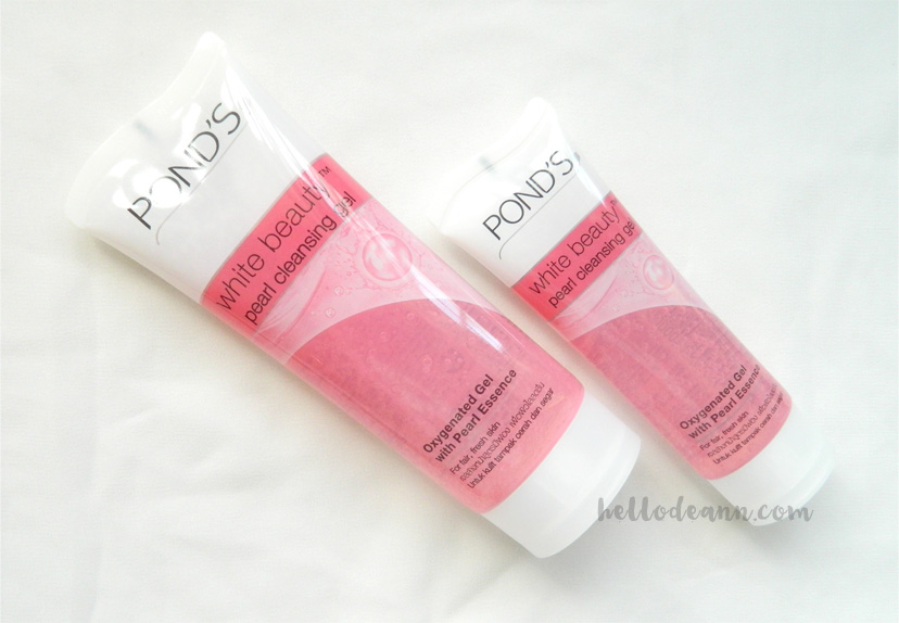 BDJBox Exclusive Pond's The Secret to Flawless, Radiant Skin - Pond's Pearl Cleansing Gel