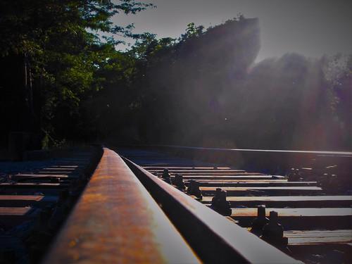 sunlight rail railway greece macedonia rails timeless macedonian makedonia kozani μακεδονια macedoniagreece