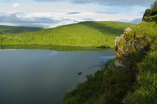 sky mountain green water landscape outdoor bulgaria