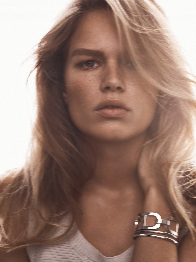 Анна Эверс — Фотосессия для «Vogue» UK 2016 – 1