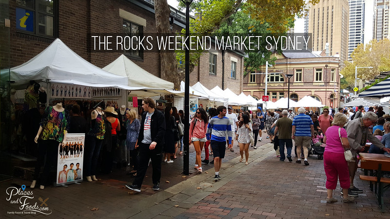 the rocks weekend market sydney
