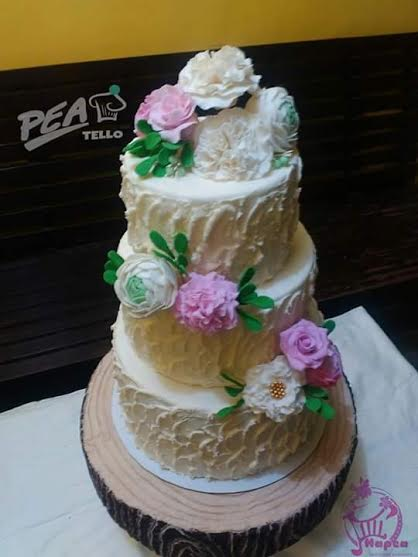 Pea Tello of Hapea Cakes and Souvenirs' Lovely Cake