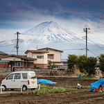 Mount Fuji Countryside