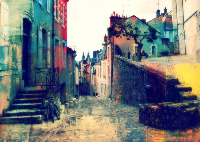 painted La France