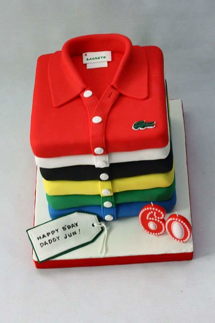 Lacoste Polo Themed Cake by Emily Martinez-Tabora