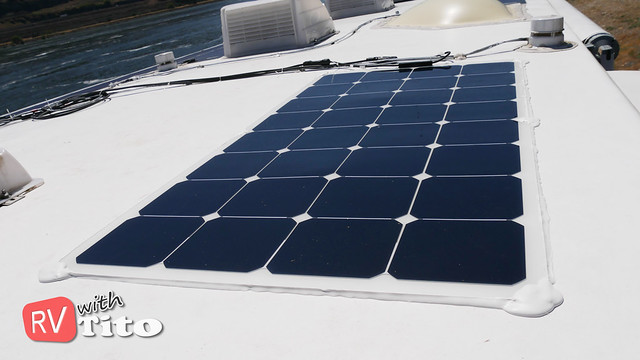 Mon, 05/30/2016 - 13:44 - Flexible Solar Panel Installation on an RV