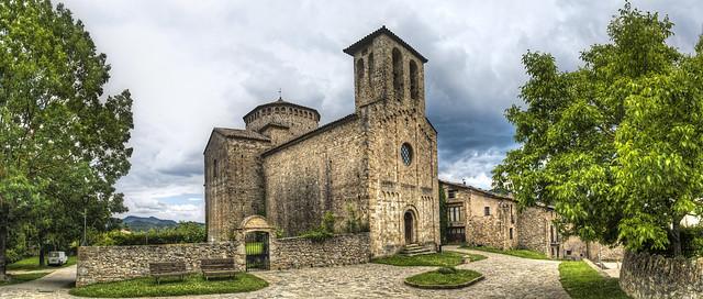 Iglesia parroquial, Sant Jaume de Frontanyà (E)