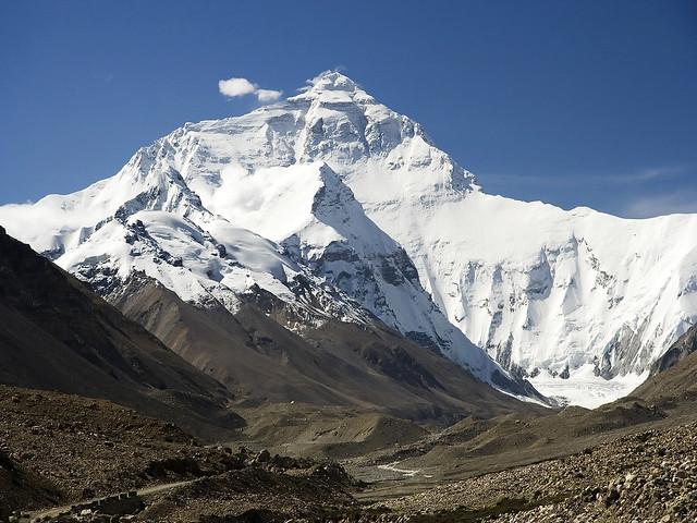 दरकते हिमालयीन ग्लेशियर