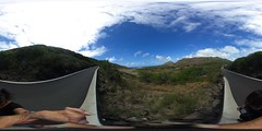 From the first leg of the Makapu'u Lighthouse trail- a 360° Equirectangular VR