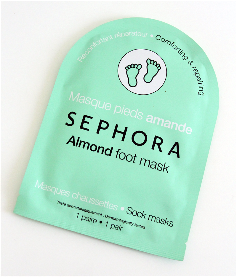 Sephora almond foot mask