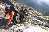 Ruwenzori-Trekking. Aufstieg zum Peak Margherita, 5109 m. Foto: Günther Härter.