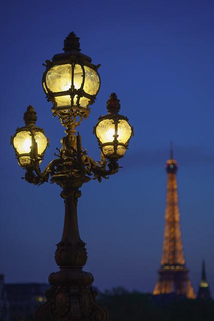 paris lighting street - photo #6