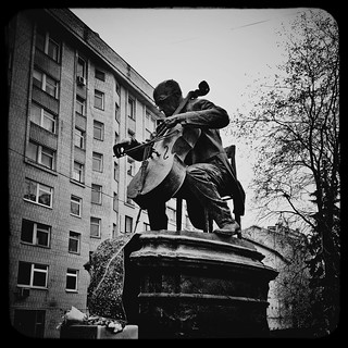 Rostropovich monument