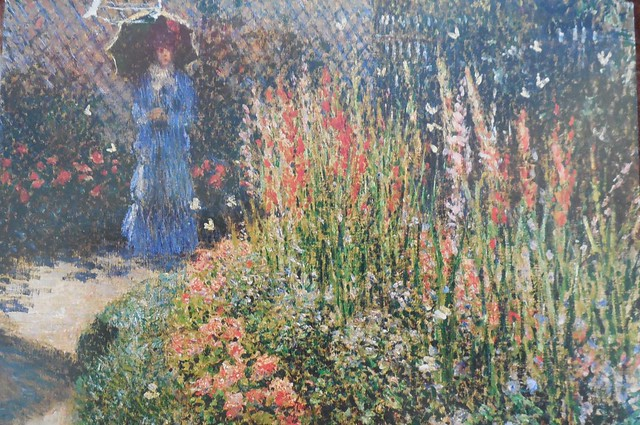 gladioli monet Gladioli print, price: £199 - buy online at popartukcom art print: a high quality print of claude monet's 'gladioli' painted in 1876 the scene depicts a beautiful garden with fashionable flowers in a circular bed and butterflies in the air in the background.