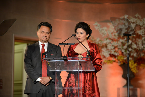 Ambassador of Indonesia Dino Djalal and Rosa Djalal - honorary chairs