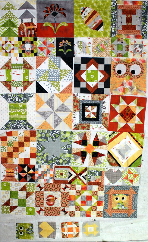 Possilbe Layouts for the My Favorite Block Quilt Along