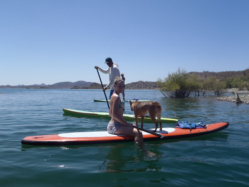 Lake Pleasant Paddle Boarding