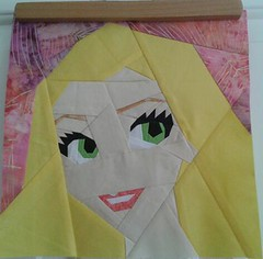 Paper Pieced Rapunzel