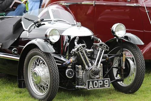 Morgan 3 Wheel Matchless 1935 - VSCC Curborough May 2013