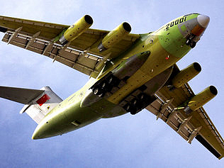 China New Military Cargo Plane is a Knockoffs ? (Video)
